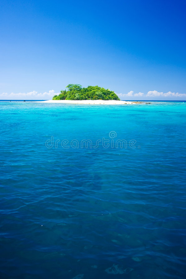 Tropical Island Vacation Paradise Stock Photography