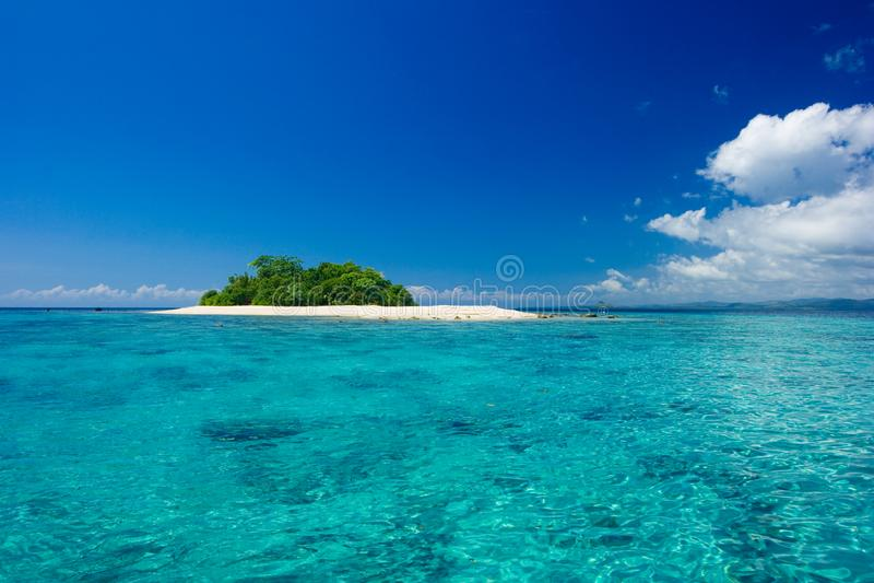 Tropical Island Vacation Paradise Stock Photo