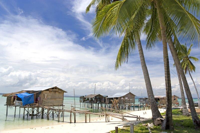 Download Tropical Island Village stock photo. Image of landscape - 4868260