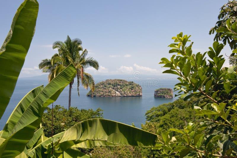 Tropical islands royalty free stock photos