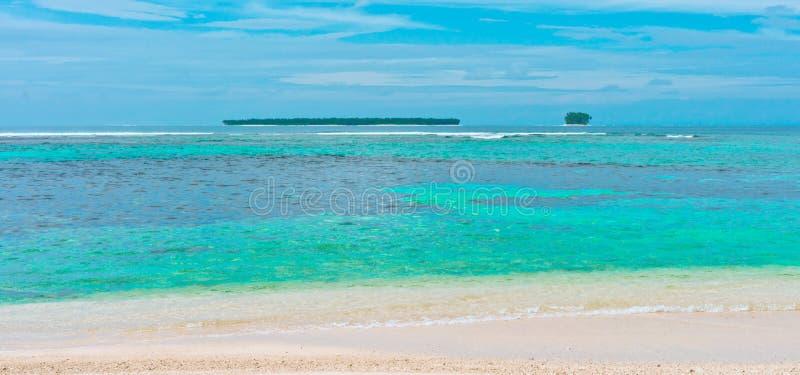 Tropical Islands In Ocean Royalty Free Stock Image