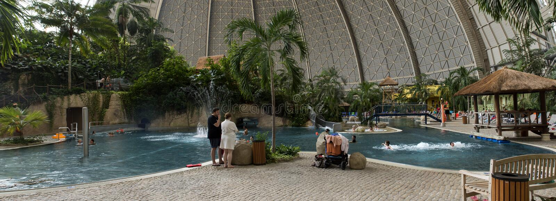 Tropical Islands Panorama stock photos