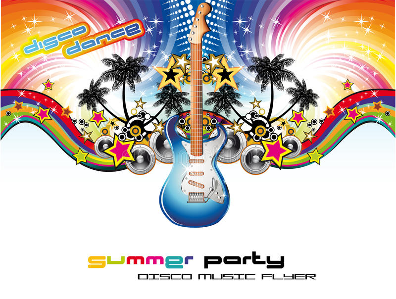 Download Tropical Musical Event Background Stock Vector - Image: 10192181