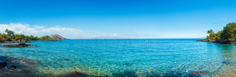 Tropical Ocean Panorama Royalty Free Stock Photos