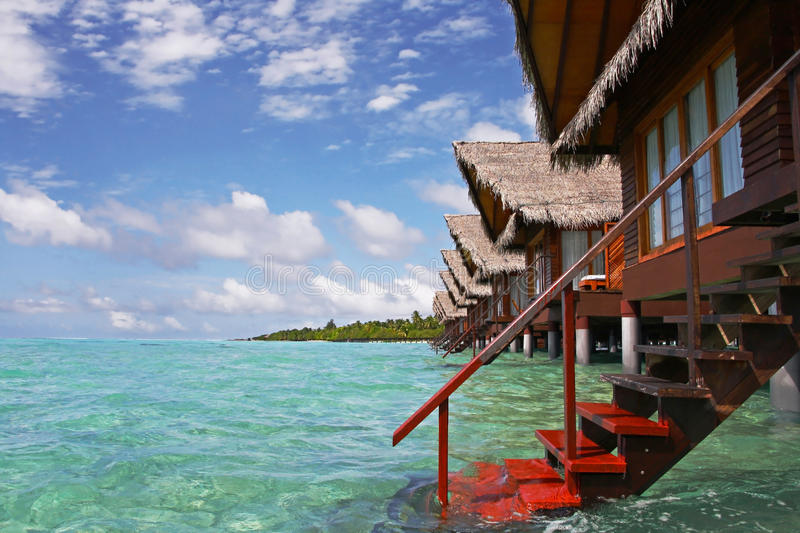 Download Tropical paradise stock photo. Image of life, pavilion - 12349382