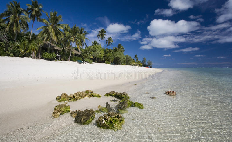 Download Tropical Paradise - The Cook Islands Stock Image - Image: 15078103