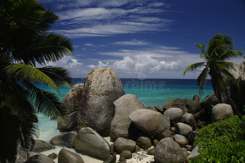 Download Tropical Paradise, Mahe, Seychelles Stock Photo - Image: 28030924