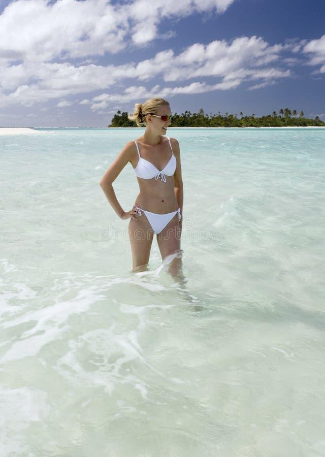 Tropical Paradise - Tahiti in French Polynesia stock photography