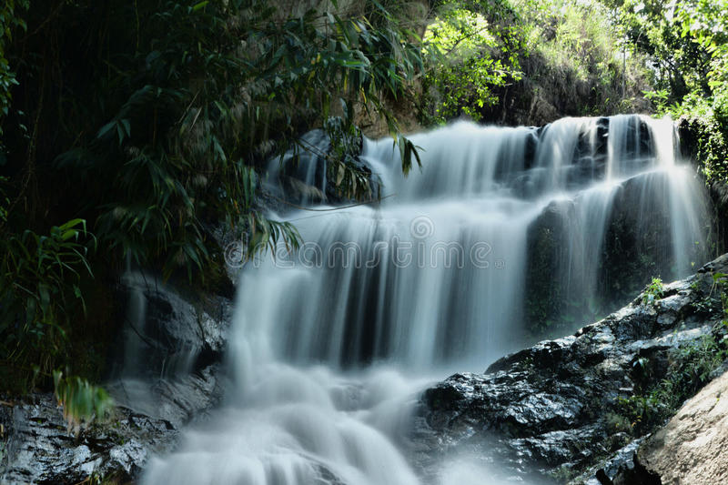 Download Tropical Paradise Waterfall Royalty Free Stock Images - Image: 38105289