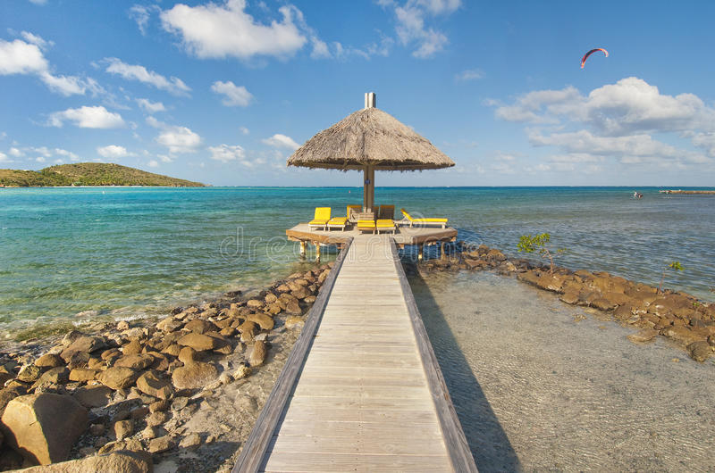 Download Tropical pier stock image. Image of scenery, coral, tourism - 23368279