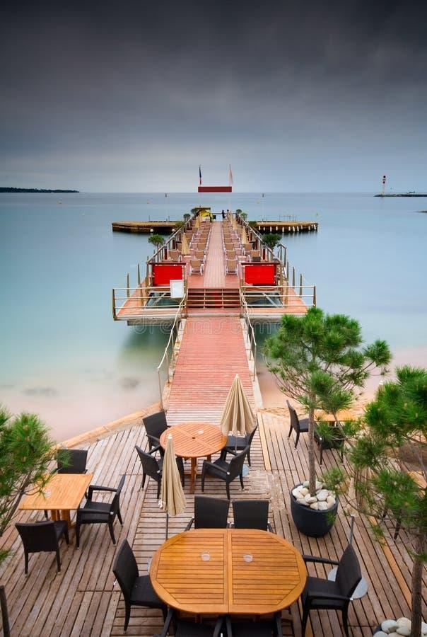 Download Tropical Pier stock photo. Image of sunset, sunbath, shore - 9052372