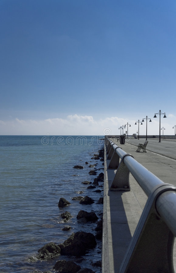 Download Tropical Pier Key West, Florida Stock Photo - Image of horizon, cloud: 4978924