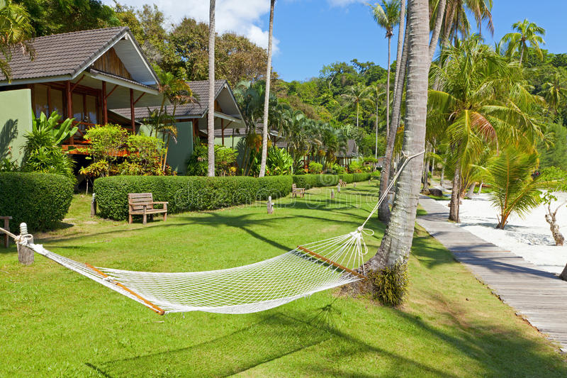 Download Tropical Resort stock image. Image of grass, travel, outdoors - 25427147