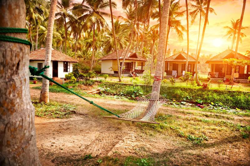 Download Tropical resort stock image. Image of indian, cottage - 26040463