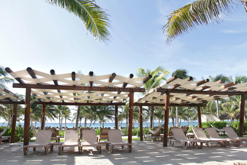 Download Tropical Resort and Beach stock photo. Image of beach - 16990700