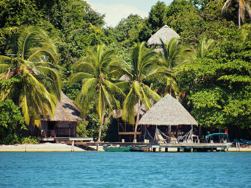 Download Tropical Resort On The Beach Royalty Free Stock Image - Image: 23556386