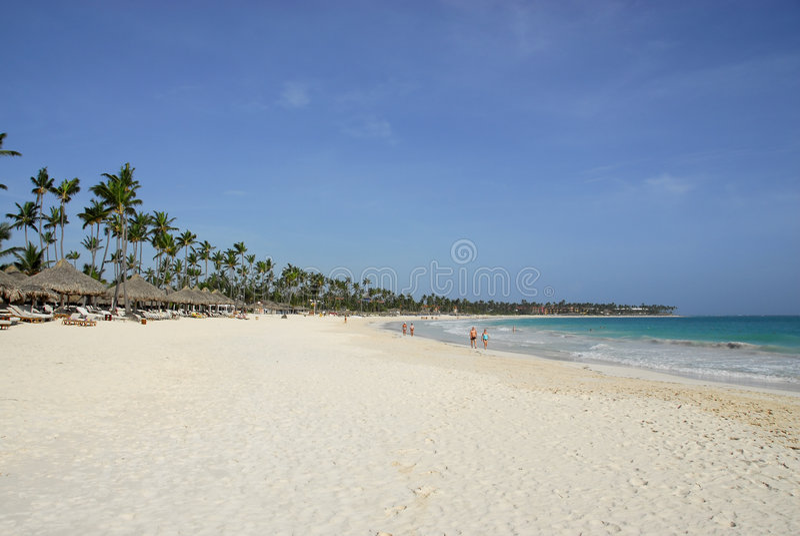 Tropical resort - Careibas stock images