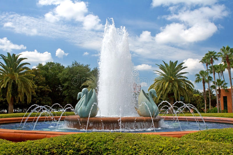 Download Tropical Resort Fountain stock photo. Image of tropical - 17046856