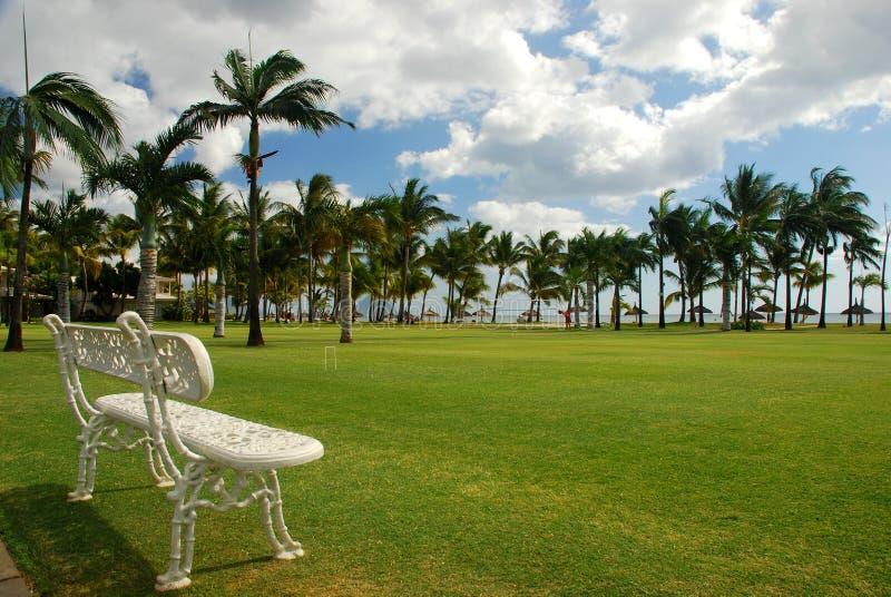 Tropical resort. Mauritius royalty free stock photo
