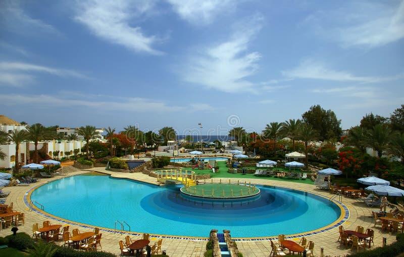 Download Tropical Resort Swimming Pool Stock Photo - Image: 13010512