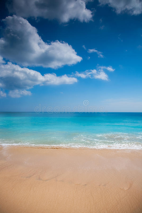 Download Tropical sand beach stock photo. Image of outdoor, space - 37714020