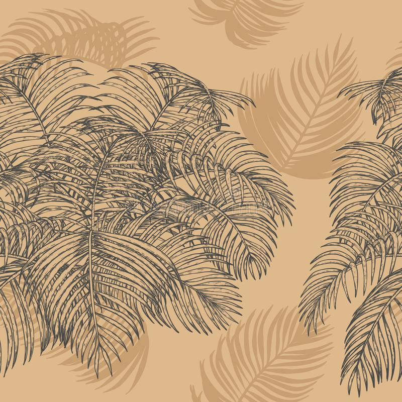 Download Tropical Seamless For Wallpaper Stock Vector