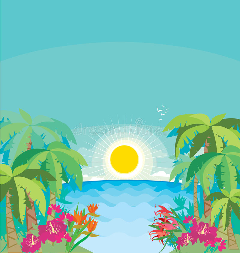 Download Tropical Seaside Stock Photography - Image: 23445792