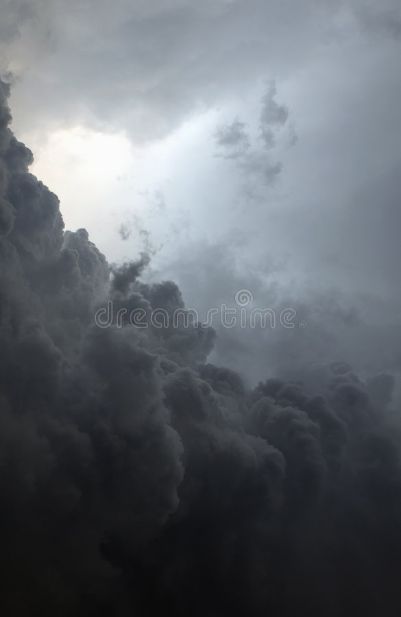 Tropical storm royalty free stock image