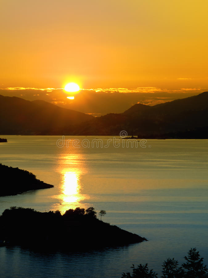 Download Tropical Sunset stock photo. Image of travel, nature - 15457128