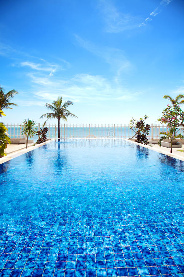 Download Tropical swimming pool stock image. Image of sunlight - 25168945