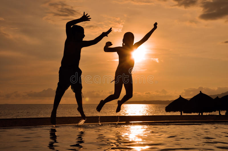 Tropical vacation royalty free stock image