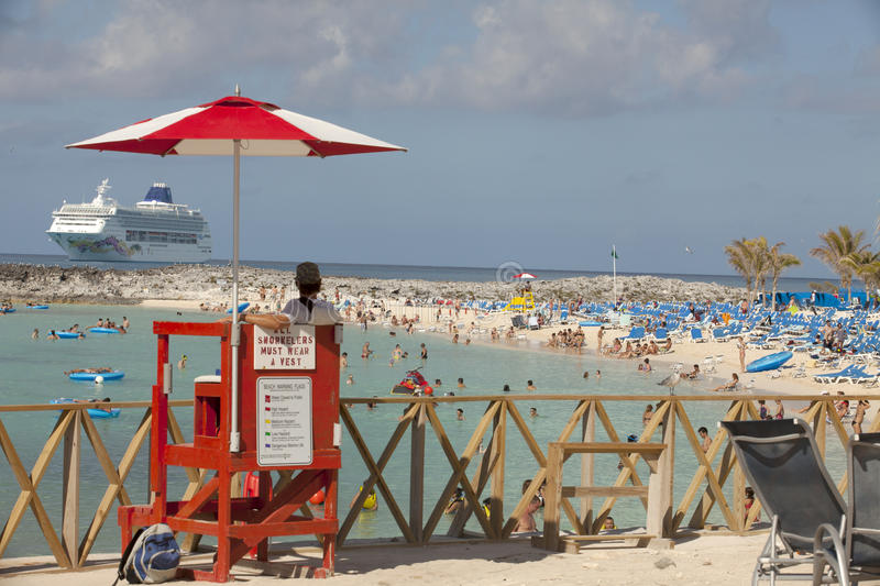 Download Tropical Vacation Cruise editorial photography. Image of beach - 24870162