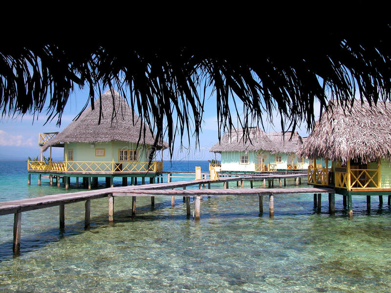 Tropical vacations royalty free stock photos