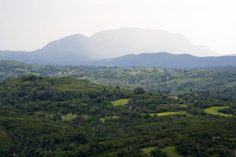 Download Tropical Valley With High Mountains Stock Photo - Image of range, distance: 11049570