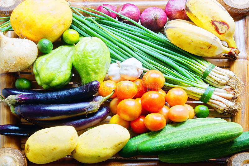 Tropical vegetables and fruits
