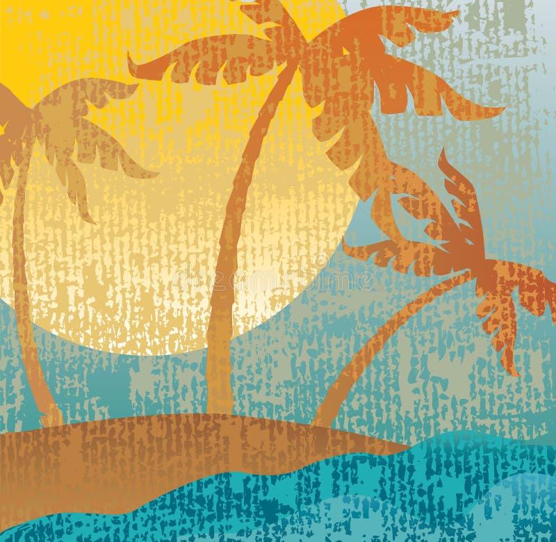 Download Tropical vintage stock vector. Illustration of retro - 11059885