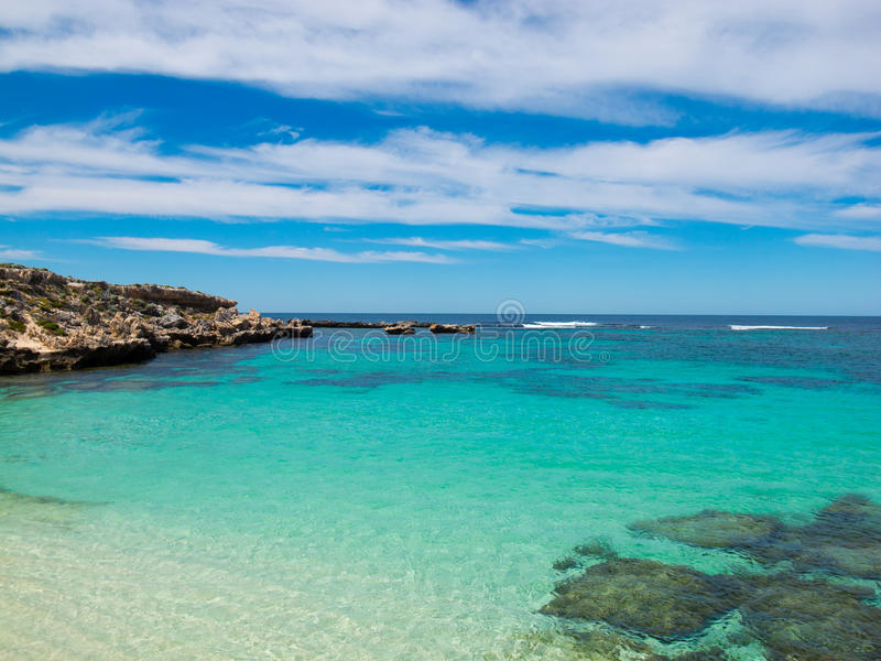 Download Tropical water stock image. Image of blue, coast, rocky - 25461227