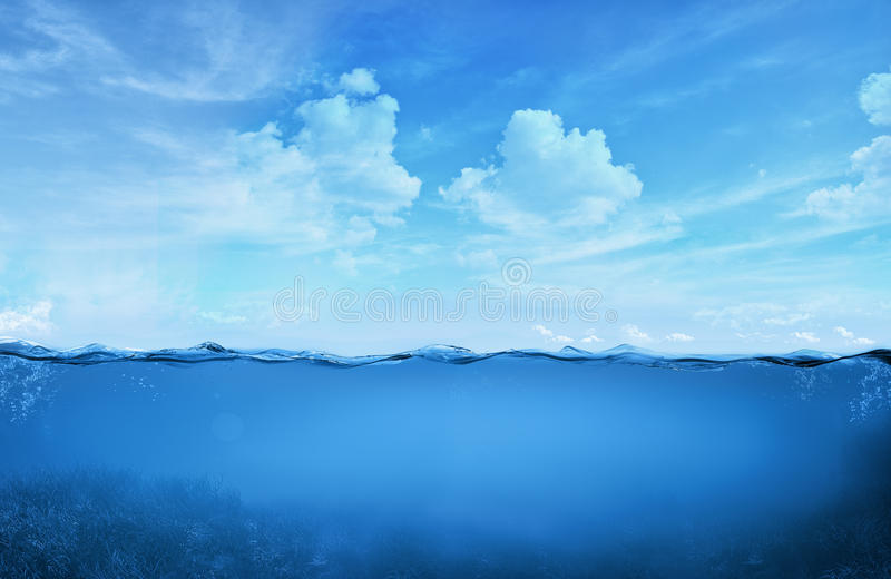 Tropical water. Concept image with tropical water royalty free stock image