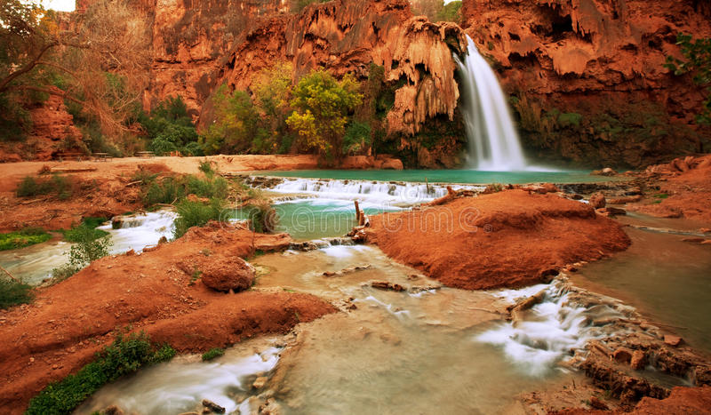 Download Tropical waterfall stock photo. Image of river, mountain - 13872462