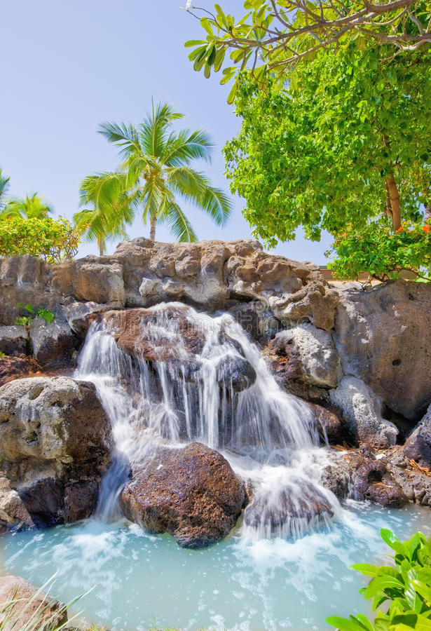 Download Tropical waterfall stock image. Image of destination - 14709043