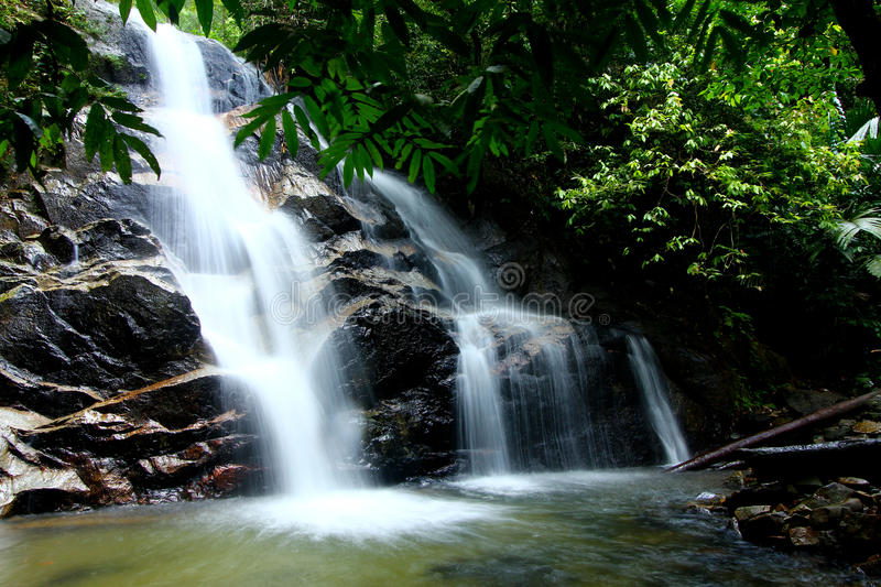 Download Tropical Waterfall Royalty Free Stock Photos - Image: 21822518