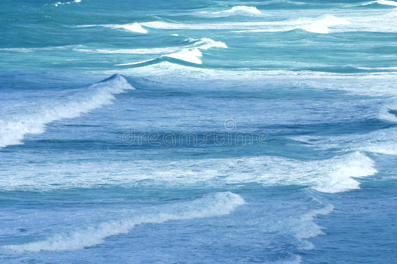 Tropical Waves. Beautiful tropical waves in Puerto Rico