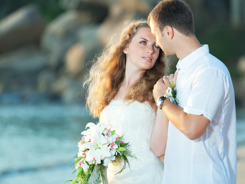 Download Tropical wedding stock image. Image of people, couple - 20963995
