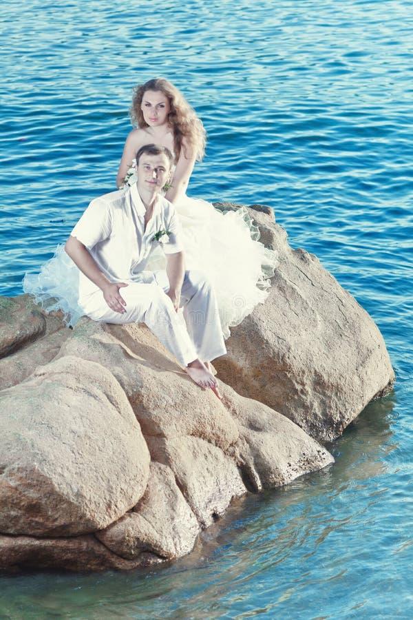 Download Tropical wedding stock image. Image of bride, groom, enjoying - 21065865