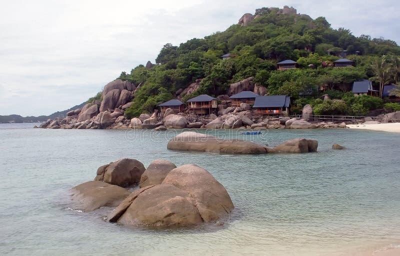 Tropical White Sand Beach At Thailand Royalty Free Stock Photo
