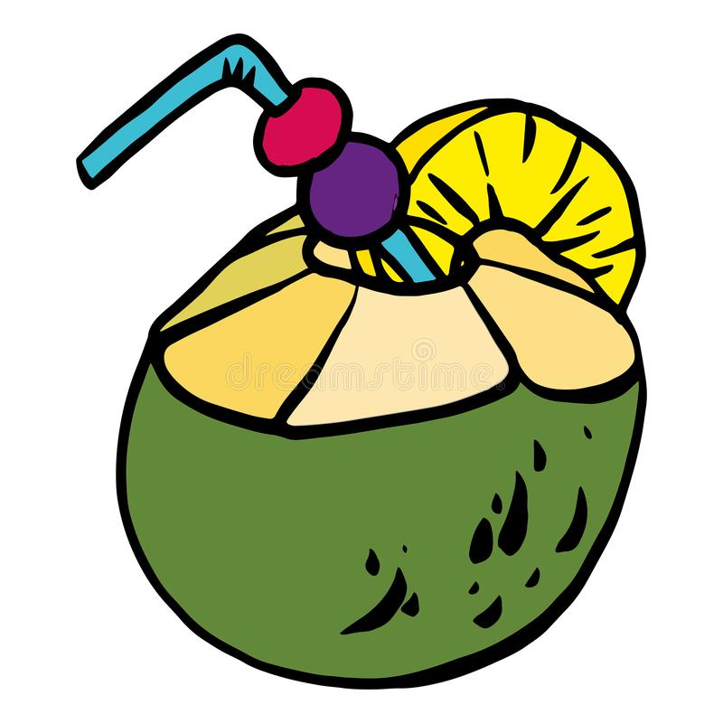TropicalCocktails 2 libre illustration