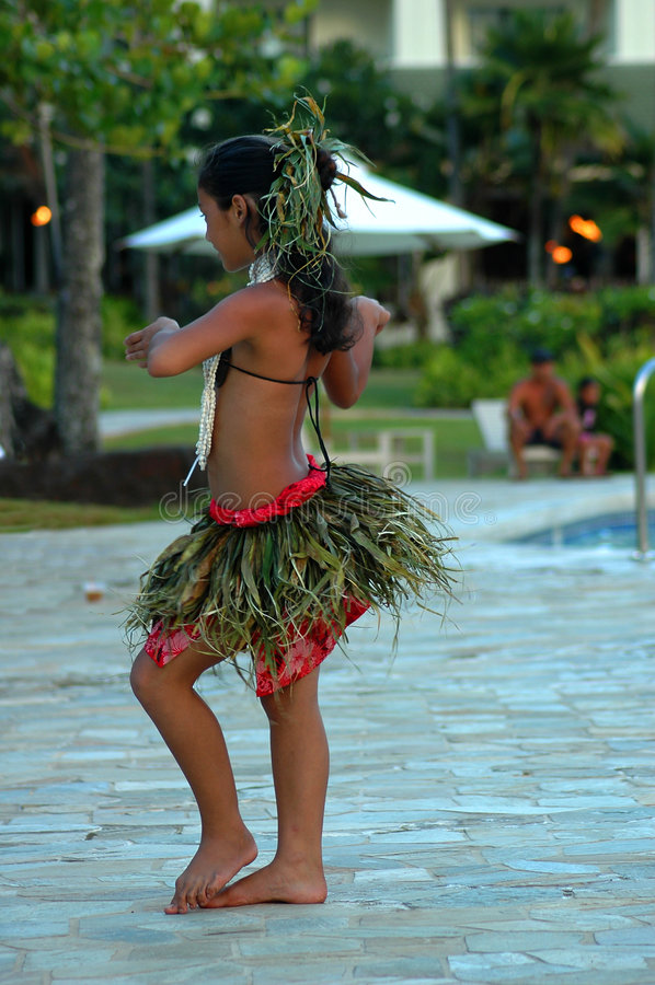 tropicaldance arkivbild