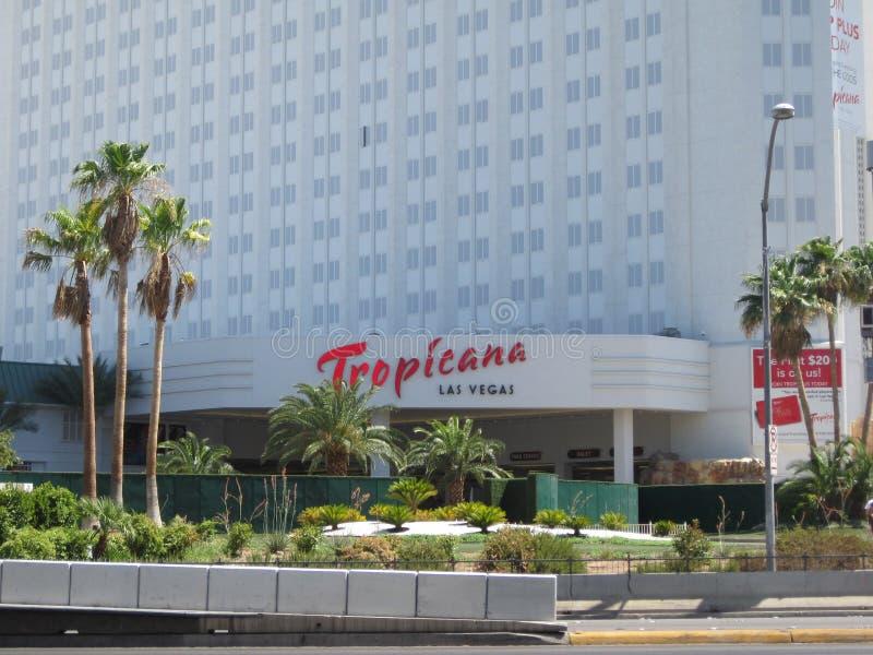 Tropicana Las Vegas royalty free stock photos