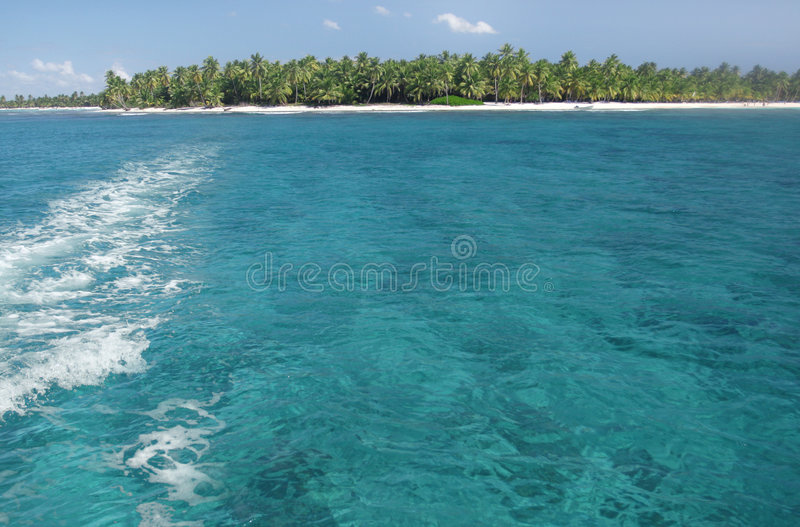 Tropicl Island, Ocean royalty free stock photography