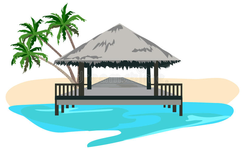 Download The Tropics stock vector. Image of travel, scene, resort - 20227829